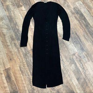 House of CB London Erelle Black Knit cardigan